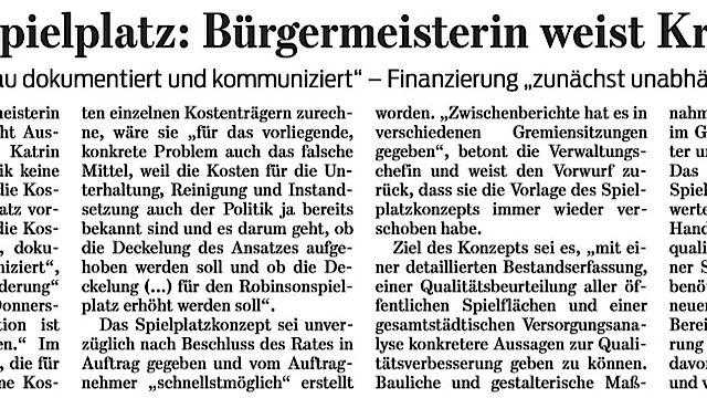 Aus der Presse: Goslarsche Zeitung vom 10.08.2019